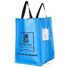 Woking Council PP сплетенный ламинированный рециркулируемый мешок (hbwo-49)