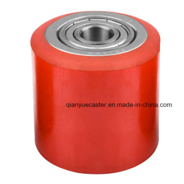 Hot Sale 100X80mm PU & Nylon Forklift Wheel for Industrial