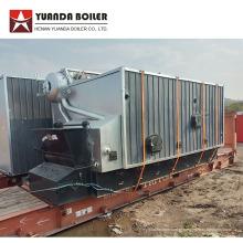 Sistema de alimentação de combustível automático Caldeira a vapor de carvão