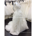 Custom Made Sweetheart Ball Gown Alibaba Organza Tieres Empire Bridal Dresses Wedding Dresses 2016 Made In China A019