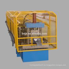 Durable cortar y doblar alambre de la máquina de gutter roll formando la máquina