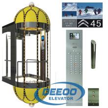 Tipo de cápsula Elevador de observación de elevación