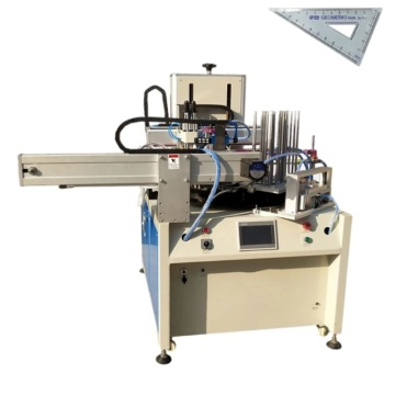 Automatische Siebdruckmaschine für Schreibwarenlineal