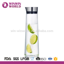 Wholesale Tableware Heat Resistant Glass Juice Water Jug 1L With Lid