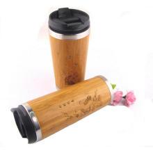 taza de café de bambú reutilizable de la taza de café