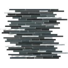 Mosaik Boden Fliese Marmor Stein Mosaik Streifen Mosaik