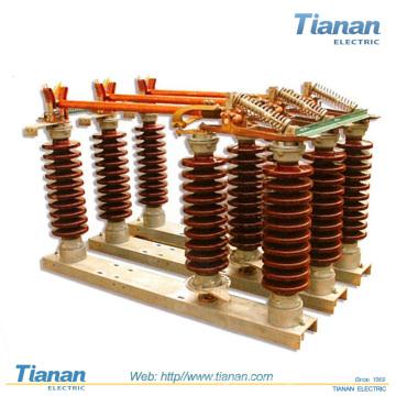 Desligamento-Interruptor-Exterior-Médio-Tensão-Ar-Isolado