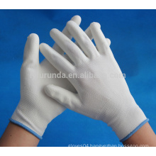 13 gauge nylon gloves coated with pu palm