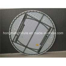 Mesa redonda dobrável de 160 cm para uso ao ar livre