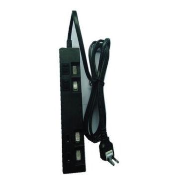 Power Made Power Strip Extension Socket Power Saver pour le Japon (deux prises + deux USB)