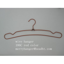 Проволока металлическая вешалка с вырезами в различных отделки для одежды брюки