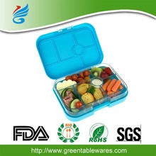 Removable 4 Section Tray leak proof plastic bento box