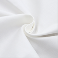 80 Polyester 20 Cotton White Plain Fabric