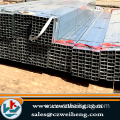 hot-dip galvanized rectangular tube