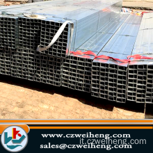 ASTM A53 A106 Square Steel Pipe / HR ERW
