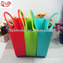 2015 Specialized for Silicone Bag OEM Summer Silicone Beach Bag