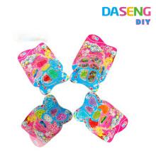 Collar colorido decorativo al por mayor de los cabritos del neckalce del grano de la fábrica