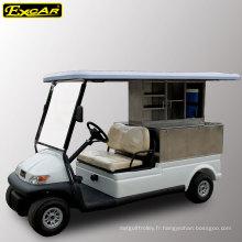 Voiture de Troie Batterie de golf 2 places Voiture de golf électrique