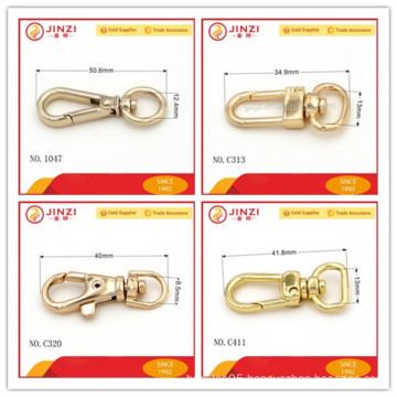 Small snap hook bag/handbag hook Aluminum hook