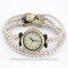 Европейский вахта кварца с кожаным диапазоном Wristwatch для различного персоны 2014
