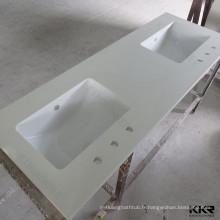 comptoirs de cuisine à domicile en acrylique / plan de travail de cuisine