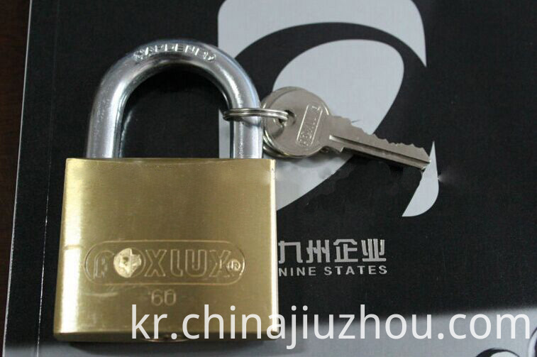 60mm Heavy Duty Thick Type Brass Padlock