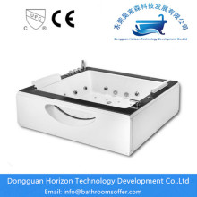 Manufacturing Companies for Square Massage Bathtub,Square Small Sizes Bathtub,Square Acrylic Bathtub,Square jacuzzi Bathtub Manufacturer in China Massage square foot soaking tub export to Japan Exporter