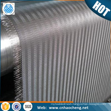 50*250 mesh Plain weave dutch weave stainless steel cloth mesh