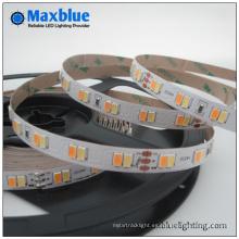 112LEDs / M DC24V SMD5630 Bicolor Luz de tira LED