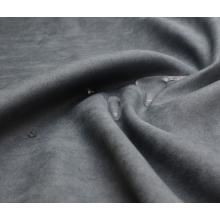 Tissu en daim 100% polyester