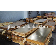 C17200 Alliage de cuivre au béryllium Tôle de cuivre / barre de cuivre / tube en cuivre