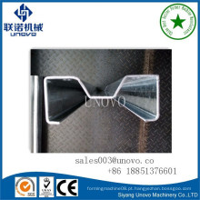 Perfil de armazenamento metálico M