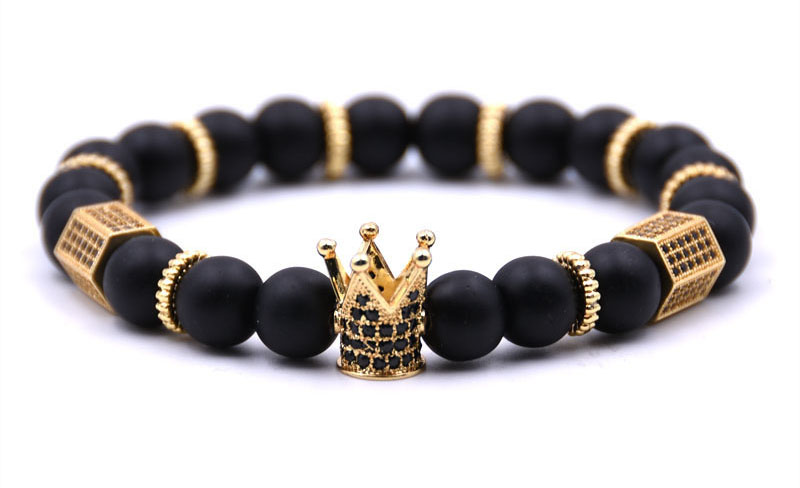crown bracelet mens