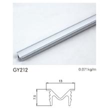 Perfil del marco del armario de aluminio anodizado