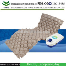 pressure relieving mattress with pump