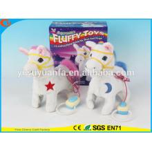Nouveauté Design Kids 'Toy Colorful Walking Electric Skip Cheveux Farcis