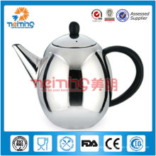 stainless steel brass kettle