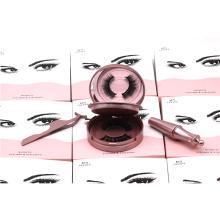 ME03 New Arrival Magnetic False Eyelashes 2 pairs of magnetic synthetic eyelashes and Tweezers and Magnetic Eyeliner