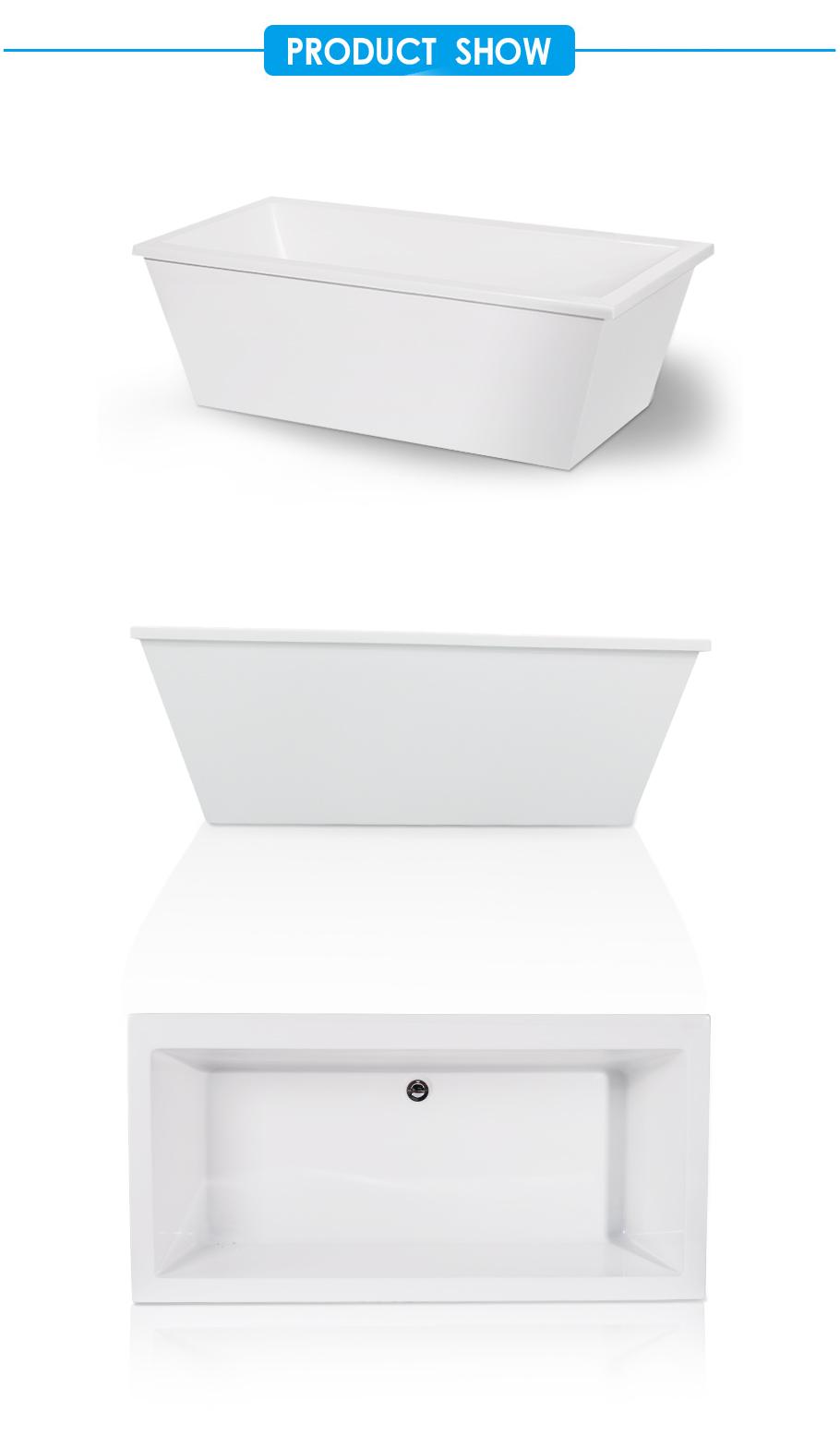 Laxson Canada Style Acrylic Freestanding Bathtub