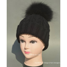 Wholesale Stylish Winter Cap and Hat Adult Knit Hat