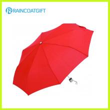 Guarda-chuva de dobramento barato da impressão feita sob encomenda para a promoção