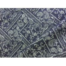 100% Cotton Indigo Print Denim