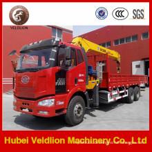 FAW 6X4 LKW mit Kran 8-12 Tonnen