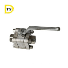 Excellent Quality forged Price 316 High Pressure Stainless Steel flange Ball Valve