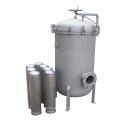 Logement en acier inoxydable pour filtre de sac 0.5cm Purification liquide d'eau filtrante liquide