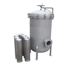 Caixa de filtro de aço inoxidável Filtro 0.5um Filtração de água Purifcação de água