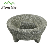 Wholesale Stone Molcajete And Tejolete Mortar And Pestle Herb Grinder Granite Molcajete