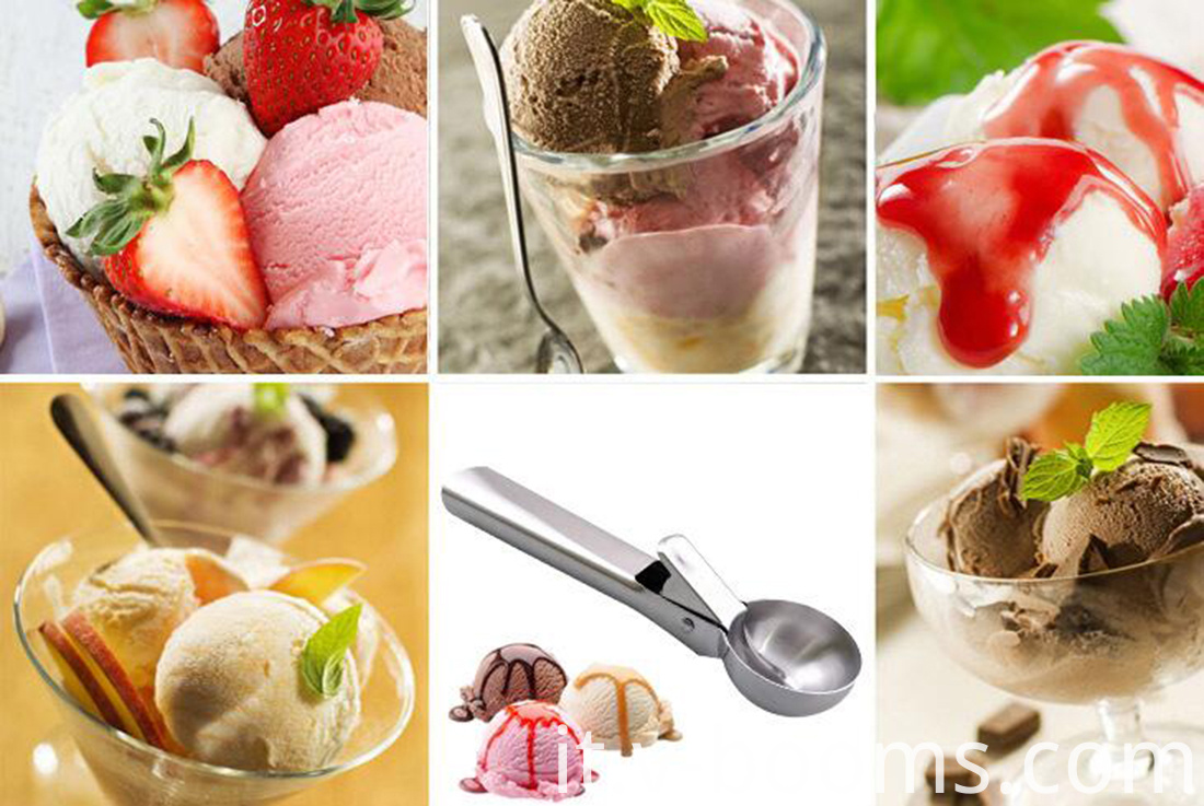 Stainless Steel Ice Cream Scoop Fruit Dipper