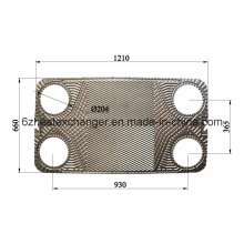 Plaque et joint Ak20 pour échangeur de chaleur similaire à Alfalaval