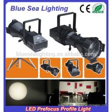 200W светодиодный белый светодиод 4IN1 префокус профиль пятно света / студии света
